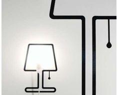 Sticker lamp, it works!