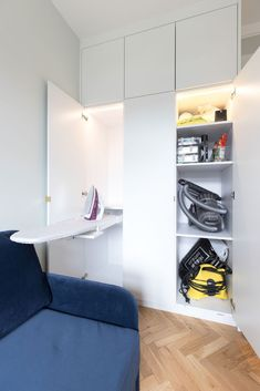 Taking your utility space and joinery design into consideration when planning your renovation  #joinery #utilityinspo #laundryinspo #absoluteprojectmanagement Small Space Storage, Storage Spaces, Diy Custom Closet, Utility Room Designs, Creating An Entryway, Kitchen Ventilation, Room Interior, Interior Design, Cupboard Storage