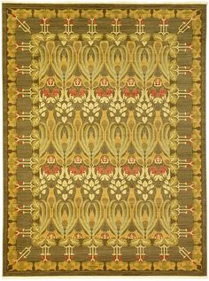 Brown 9' 0 x 12' 0 Allover Sultanabad Rug | Area Rugs | eSaleRugs
