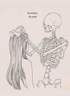 Haenuli Shin illustre sa dépression avec son couple avec la mort Dessein de dessin