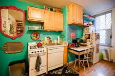 eclectic kitchen by Chris A. Dorsey