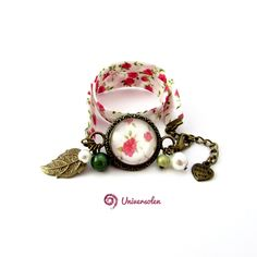Etsy - Shop for handmade, vintage, custom, and unique gifts for everyone Bracelet Watch, Etsy, Vintage, Bracelets, Accessories, Fashion, Pink Flowers, Handmade Gifts, Unique Jewelry