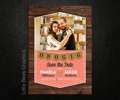 Click here to see more of our designs! 25 Rustic Geometric Save the Date Magnets by LittleBeesGraphics