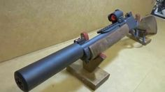 Marlin 1894 Magnum Suppressed SBR with Sniper Gray Cerakote & Aimpoint Micro Weapons Guns, Military Weapons, Guns And Ammo, Zombie Weapons, Marlin Model 1895sbl, Lever Action Rifles, Battle Rifle, 357 Magnum, Hunting Rifles