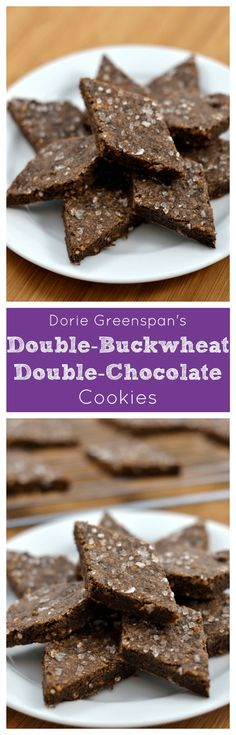 Dorie Greenspan's Double-Buckwheat Double-Chocolate Cookies at Chew ...