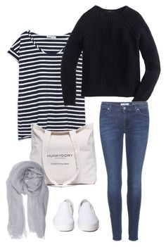 """""""Untitled #245"""" by fridafranselia on Polyvore featuring Zara, Hunkydory, J.Crew, 7 For All Mankind, Vans and Faliero Sarti"""