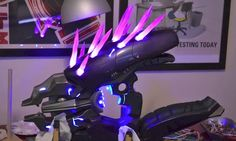 "Incredible Prop Replica ""Halo"" Needler With Lights And Sound [Video]"