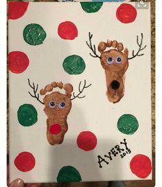 Cute And Fun Christmas Handprint And Footprint Crafts For Ki.- Cute And Fun Christmas Handprint And Footprint Crafts For Kids - Kids Crafts, Daycare Crafts, Toddler Crafts, Preschool Crafts, Crafts For Babies, Baby Crafts To Make, Infant Crafts, Craft Activities, Baby Art Crafts