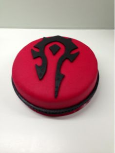 For The Horde! (World of Warcraft) cake