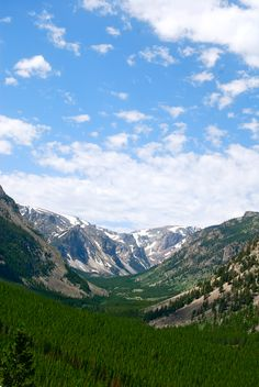 Rocky Mountains, Bear Tooth Pass