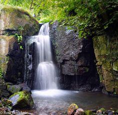 Series of small falls nr Matlock , Derbyshire, UK England, Peak District, Beautiful Waterfalls, Derbyshire, British Isles, Great Britain, Rivers, Lakes, Countryside