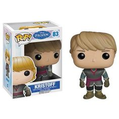 This is the Kristoff POP Vinyl figure that is produced by Funko. Disney's Frozen was a major blockbuster and it was practically a certainty that Funko would make a line of Funko POP Vinyl's of the Fro