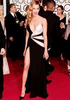 Katie Cassidy   Golden Globe Awards 2015.
