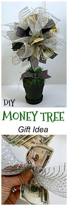 Money Tree! DIY Gift Idea perfect for Teens! - So TIPical Me