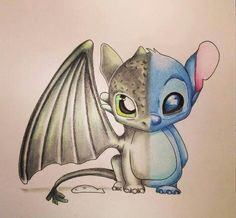 Would you rather have Stitch or Toothless as a pet?