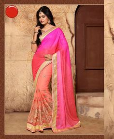 #VYOMINI - #FashionForTheBeautifulIndianGirl #MakeInIndia #OnlineShopping #Discounts #Women #Style #EthnicWear #OOTD #Saree Only Rs 1939/, get Rs 411/ #CashBack, ☎+91-9810188757 / +91-9811438585