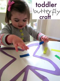 Simple butterfly craft for little ones...