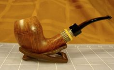 Claudio Cavicchi 4c Smooth Natural/Brown Bulldog Briar Pipe (No Reserve)