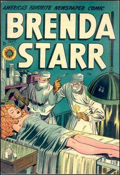 Brenda Starr vol. 2 #4, September 1948.