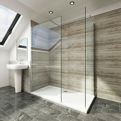 Wet Room Shower Screens, Glass Shower Panels, Shower Rooms, Modern Shower, Modern Bathroom, Wet Room Bathroom, Ensuite Bathrooms, Bathroom Showers, Master Bathroom