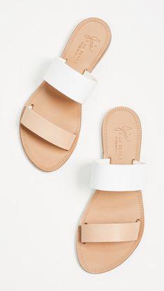 a la plage sable two band sandals / joie via shopbop