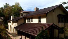 ATAS Monarch Batten Seam roof in Classic Bronze