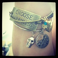 Why pay $40 each for an Alex and Ani bracelet when you can customize your own?