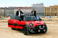 DSQUARED² Life Ball Mini Cooper S Red Mudder...looks fun to drive