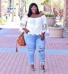 LACE N LEOPARD: Plus Size Fashion for Women