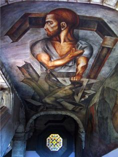 José Clemente Orozco was a painter who helped lead the revival of Mexican mural painting in the His works are complex and often tragic. Diego Rivera, Famous Mexican Painters, Mexican Artists, Mural Painting, Mural Art, Paintings, Clemente Orozco, South American Art, Poster Prints