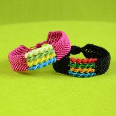 DIY Bracelet with Spiral Stripes