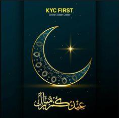 KYC Firt Wishing you a joyful Eid. May Allah shower his blessings on you always. Eid Mubarak....