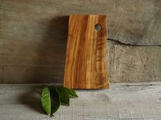 Small Rustic Olive Wood Cutting / Serving / Chopping Board by Bianca and Sons on Gourmly