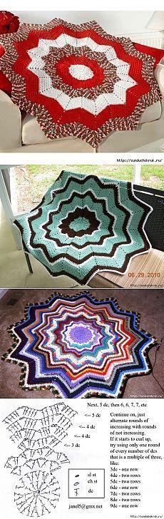 DIY Handmade: Dywany ze sznurka, szydełkowe dywany - 8 DIY