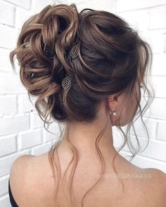 Long updos wedding hairstyles by mpobedinskaya - makeup - Hochzeit Frisuren - Grad Hairstyles, Prom Hairstyles For Long Hair, Braided Hairstyles, Up Do Prom Hair, Long Haircuts, Bridal Updo Hairstyles, Wedding Hairstyles And Makeup, Prom Hairstyles For Medium Hair, Scene Hairstyles