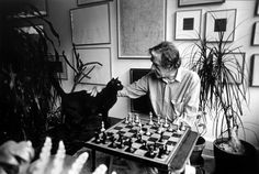 New York 1988 - John Cage & his cat by Armin Linke