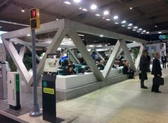 Smart City Plaza Smart City Expo World Congress 2014 Diseño, producción, montaje y dirección técnica Cliente: Fira Barcelona