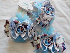 137b962b9c2c96 Frozen Queen Elsa Princess Anna Boutique by AllThingsGirlyBows
