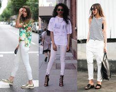 Como usar: jeans branco no verão - Moda it