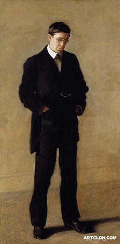 The Thinker Portrait of Louis N Kenton 1900  Met Museum of New York  Thomas Eakins