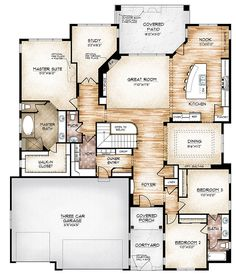 The Edwards model plan offerscompact ranch-style living.The ultimate in grand, modern, efficient design.