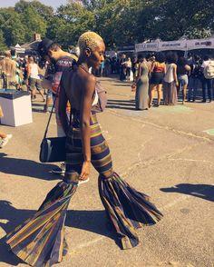 Slaying /afropunk/ festival wearing @ohemaacloset Pinterest @chantvl876