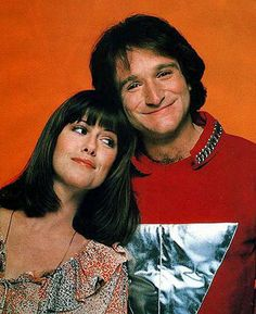 Mork and Mindy... Check it out... yes kids, that was Robin Williams in his younger days.  He was noted for sitting on his HEAD!