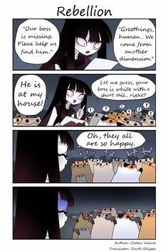 Creepy Cat Chapter 66: Rebellion page 1 - M.MangaBat.com