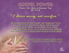 Gospel Power 15th Week – Friday