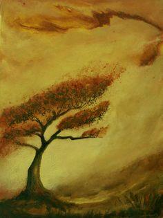 Joshua Tree Mixed Media on Canvas http://www.donnaholdsworthart.com/