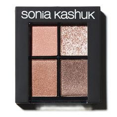 Sonia Kashuk ® Eye Shadow Quads in Bed of Roses or Fair and Square $14