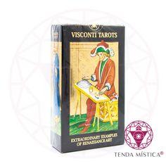 Baralho Tarot - Visconti Tarots Tarot, Cover, Books, Decks, I Found You, Libros, Book, Book Illustrations, Libri