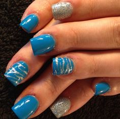 Acrylic nails by Angela