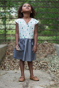 the lotta dress by rachel stitched together, via Flickr